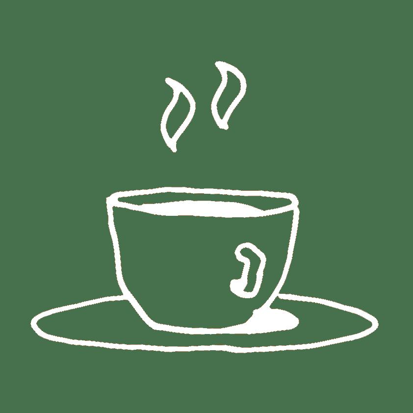 Kop koffie tekening